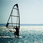 windsurfer panorama